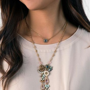 Parisian Belle Pendant Necklace By Chloe + Isabel