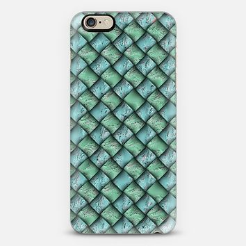 Patchwork Moire Silk iPhone 6 case by Alice Gosling   Casetify