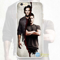 Cool pic of brothers on Supernatural Phone Case For iPhone 7 7Plus 6 6s Plus 5 5s SE