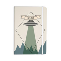 "Alias ""Believe"" Geometric Beige Everything Notebook"