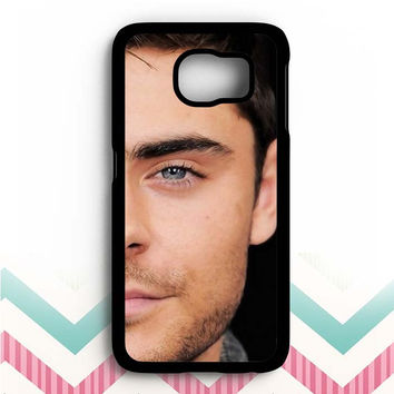 zac efron face Samsung Galaxy S6 Case