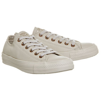 Converse All Star Low Leather Sand Dollar Light Gold Exclusive - Unisex Sports