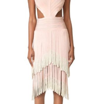 Fringe Sleeveless Dress