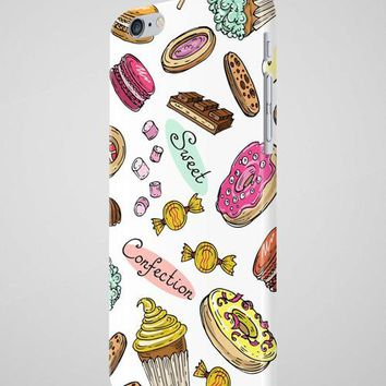 Cupcakes Donut Sweets Chocolate iPhone X Case