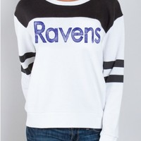 NFL Baltimore Ravens Sweatshirt - Baltimore Ravens - NFL - Collections - Womens