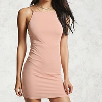 High-Neck Cami Dress