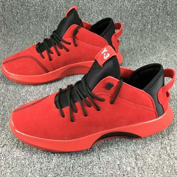 Adidas Y-3 QASA HIGH Trendy and Comfortable Sports Running Shoes F-KR-PJ red