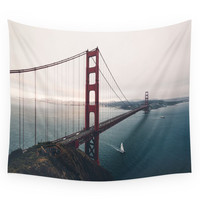 Society6 Golden Gate Bridge - San Francisco, CA Wall Tapestry