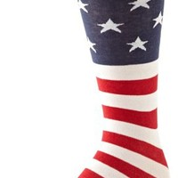 K.Bell Black Label Men's Flag Crew Sock