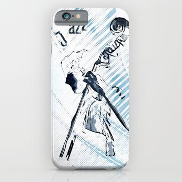 Double Bassist iPhone & iPod Case by Cinema4design | Society6