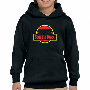 jurassic south park Youth Hoodie