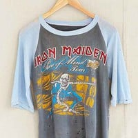 Vintage Iron Maiden Raglan Tee- Assorted One