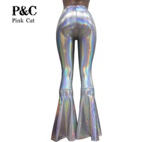 So Groovy Holographic Flare Bottoms