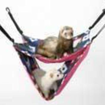 PEAPG2Q Marshall Pet Ferret Deluxe Hammock Assorted