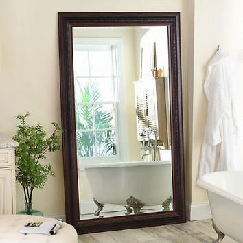 Mahogany Framed Mirror, 46x76 | Kirklands