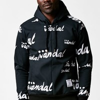 Vandal French Neo Pullover Hoodie - Mens Hoodie - Black - Large