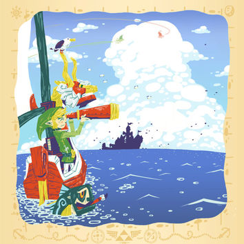 We Have Our Heading ~ The Legend Of Zelda Wind Waker