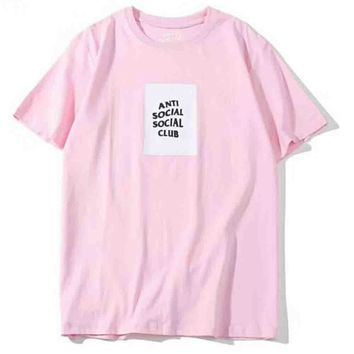 Vetements reflective New style short sleeve blouse top Pink