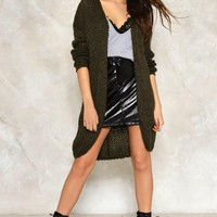 Reese Oversized Cardigan | Shop Clothes at Nasty Gal!