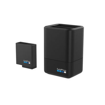 Dual Battery Charger + Battery (HERO6 Black/HERO5 Black)