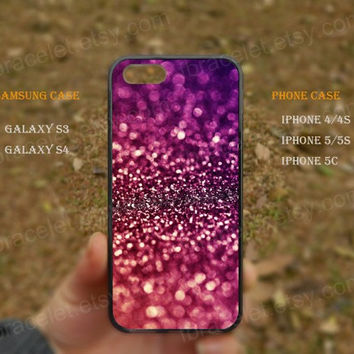 Glitter bling own iphone case iPhone 5s case,iPhone 5C ,Samsung Galaxy S3,S4 Case,iPhone 5 Case,iPhone 4,4s case,water proof,Gifts