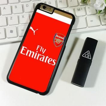Arsenal Jersey Red Soccer iPhone 6 Plus   6S Plus Case Planetscase.com