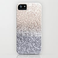 *** GLITTER GATSBY SILVER ***  iPhone & iPod Case by M✿nika  Strigel for iphone 5 + 4 + 3 all types and ipod touch and Samsung Galaxy !!!