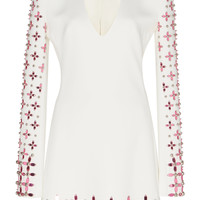 Beaded Flounce Mini Dress | Moda Operandi