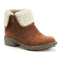 Tandy Women's Fold-Over Ankle Boots