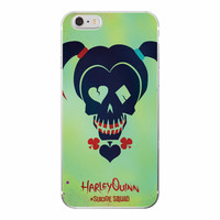 FREE Harley Q Skull Suicide Squad Phone Case For iPhone and Samsung Galaxy