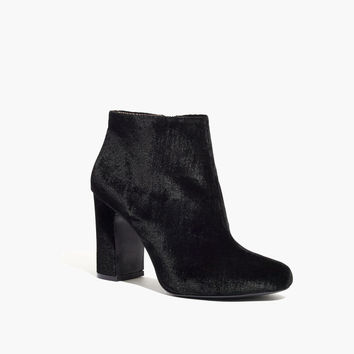 The Nealy Boot in Velvet