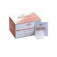 Medline Nail Polish Remover Pads - Qty of 100 - Model MDS090780H