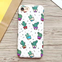 Best Protection Cactus iPhone 7 7 Plus & iPhone 6 6s Plus & iPhone 5s se Case Personal Tailor Cover + Gift Box