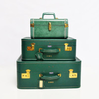Forest Green American Tourister Luggage Set