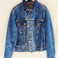 Vintage Levis Lined Jacket - Urban Outfitters