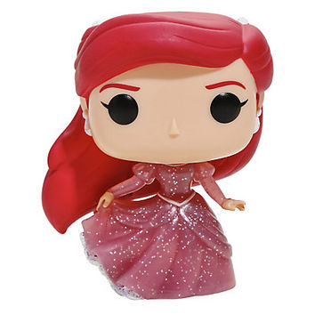 Funko Disney The Little Mermaid Pop! Ariel (Glitter) Vinyl Figure Hot Topic Exclusive