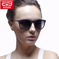 Ultralight TR90 Frame Polarized Women Sun Glasses Brand Multi Color Mirror Sunglasses Female Gradient UV400 Lunette de soleil