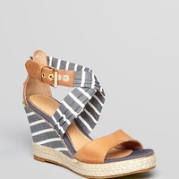 Sperry Top-Sider Open Toe Platform Wedge Sandals - Aurora | Bloomingdale's