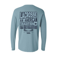 Lacrosse - Chambray Comfort Colors Pocket Long Sleeve