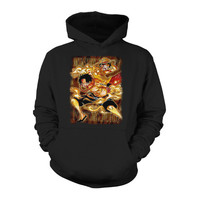 One Piece - Luffy and Ace the brother -Unisex Hoodie  - SSID2016