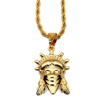 Stylish New Arrival Jewelry Gift Shiny Accessory Hip-hop Necklace [10529028995]