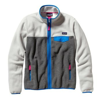 Patagonia Women's Full-Zip Snap-T® Fleece Jacket | Nickel