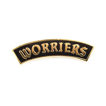 Worriers Lapel Pin