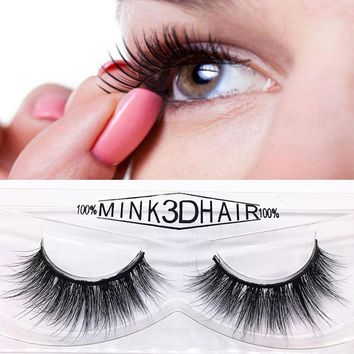 Coated By Candy Luxurious Ultra Fluffy 3D Mink Strip Lashes 100% Siberian Mink Fur False Lashes Thick