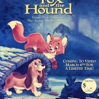 The Fox and the Hound 11x17 Movie Poster (1988)
