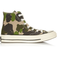Converse - Chuck Taylor All Star '70 printed canvas high-top sneakers