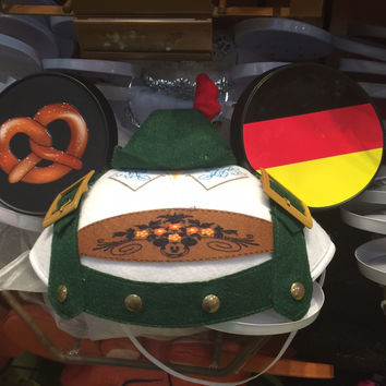 disney parks character ears epcot germany ear hat one size new with tag