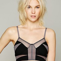 Free People Mesh Crop