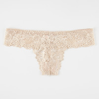 All Over Lace Thong | Panties