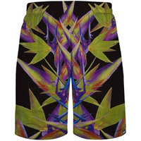 Abstract Vibes Mesh Shorts